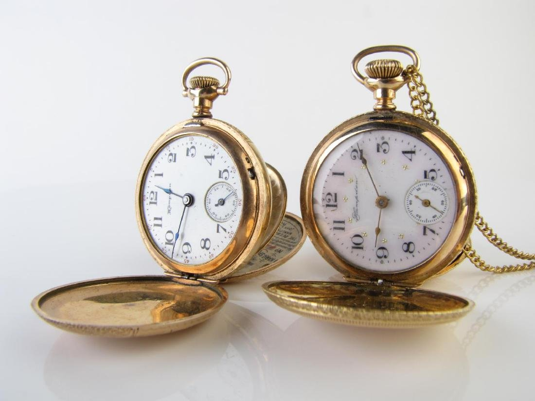 Two Hampden Pocket Watches