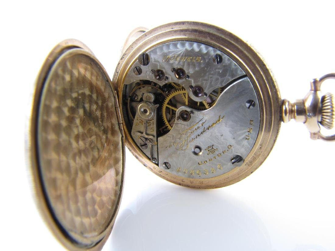 Two Hampden Pocket Watches - 2
