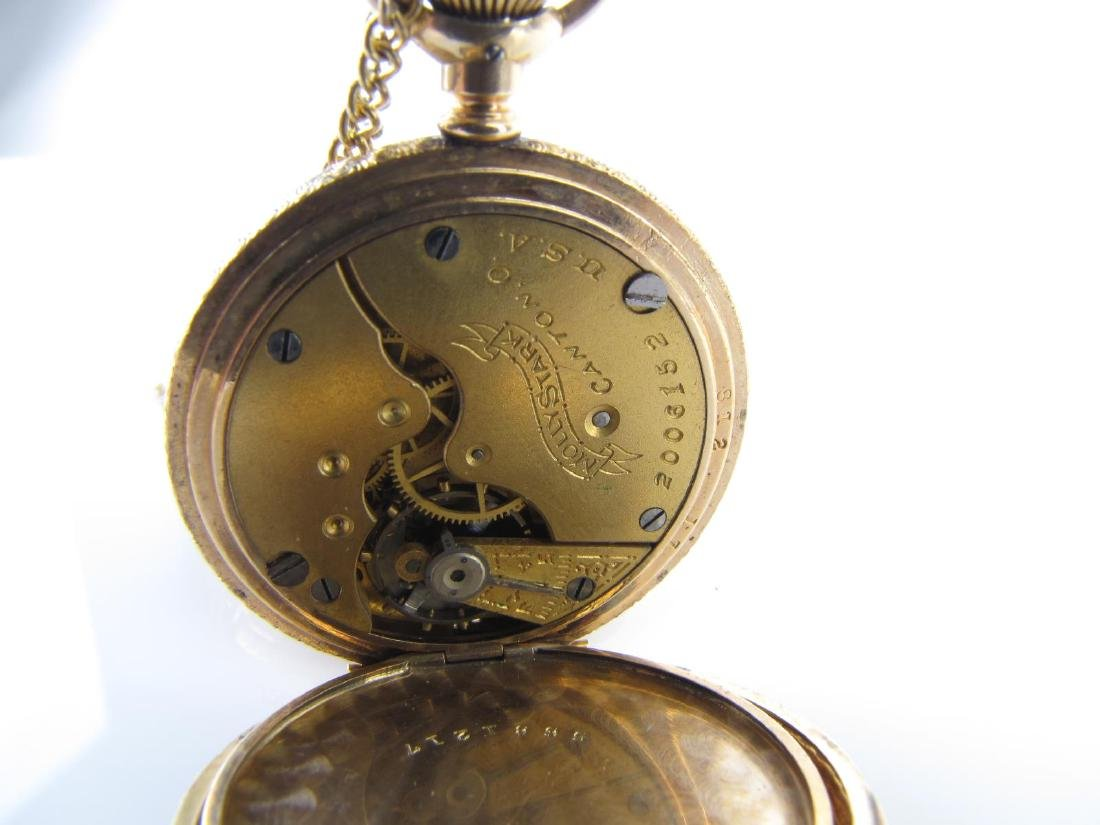 Two Hampden Pocket Watches - 4