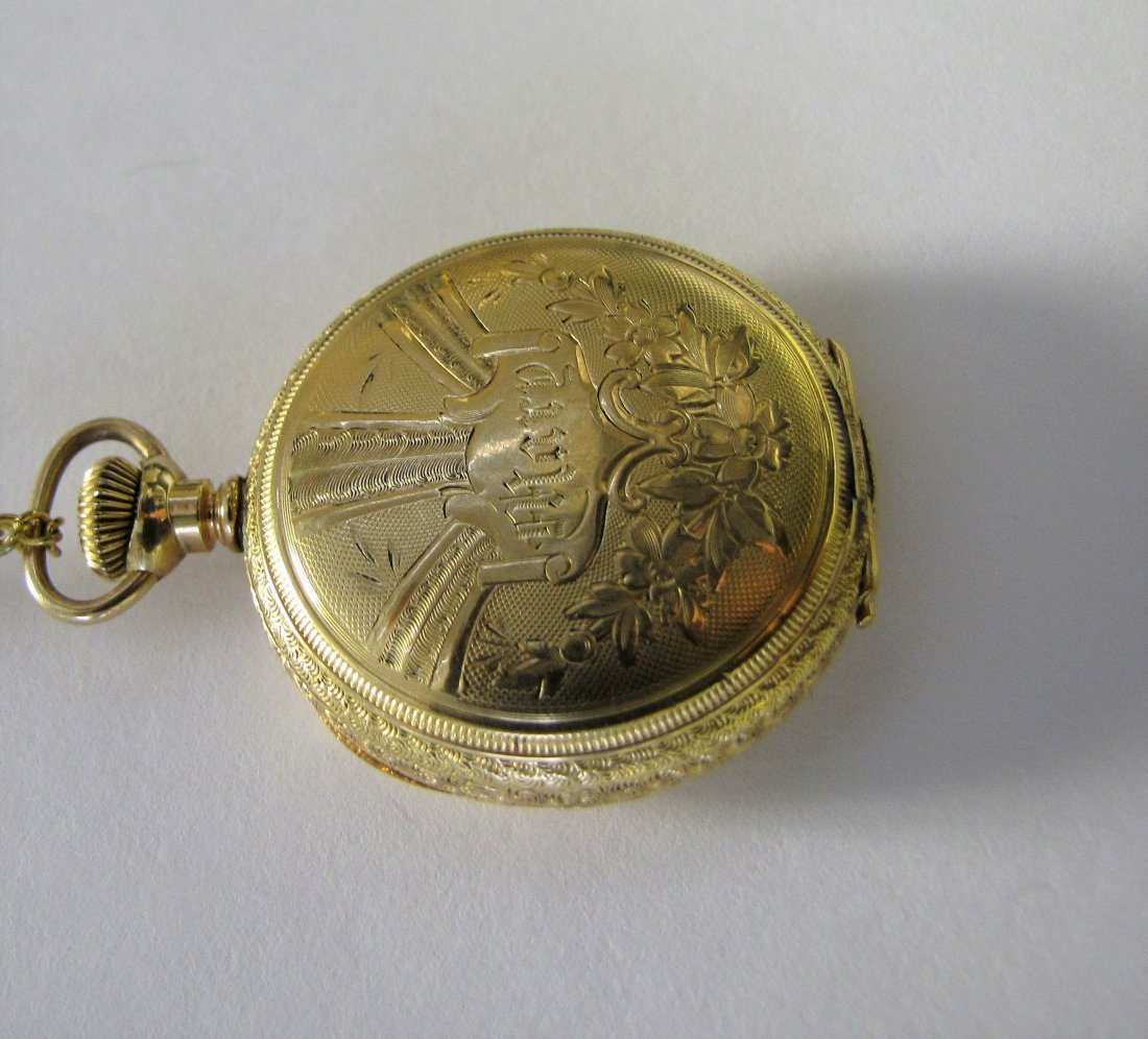 Two Hampden Pocket Watches - 5