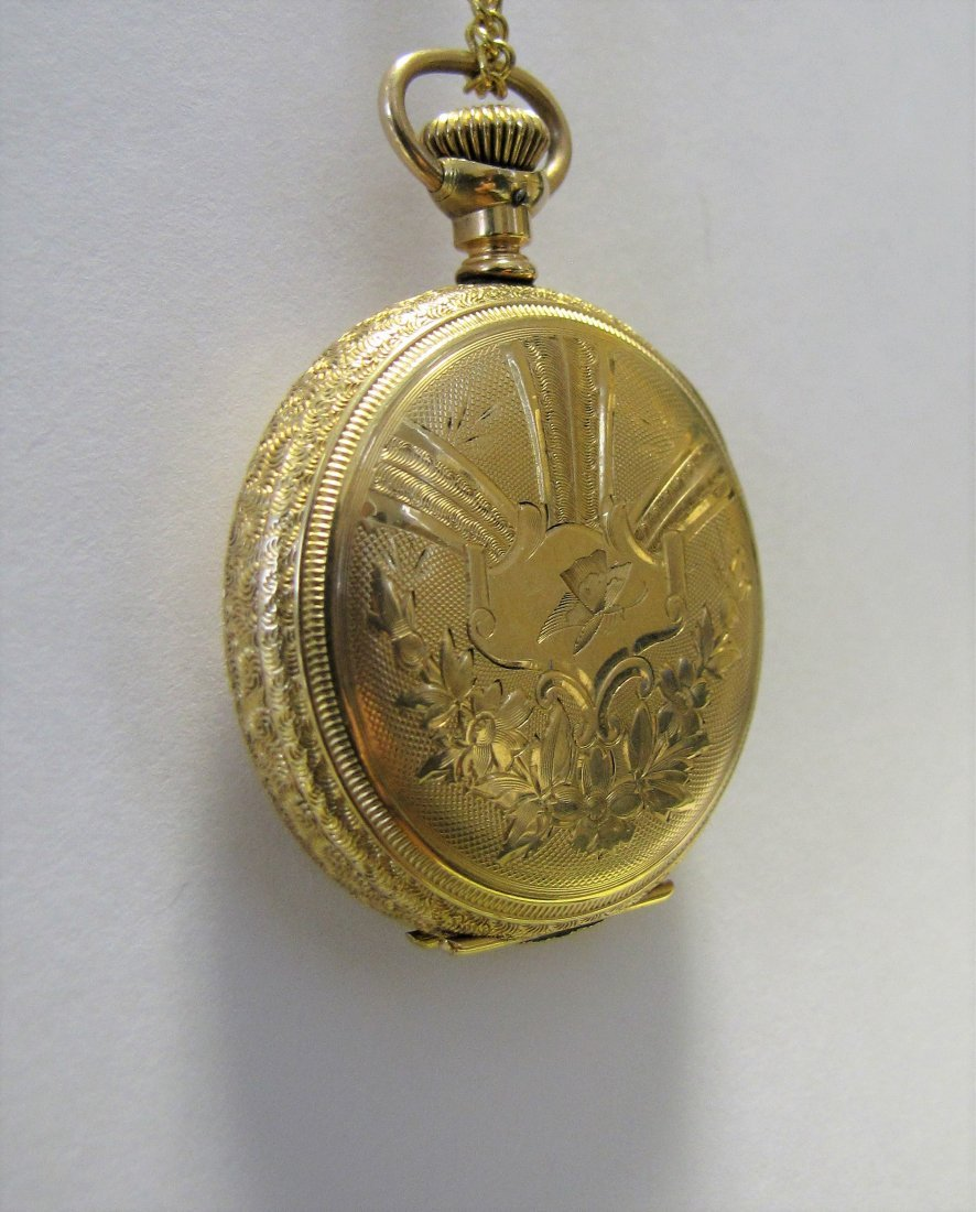 Two Hampden Pocket Watches - 6