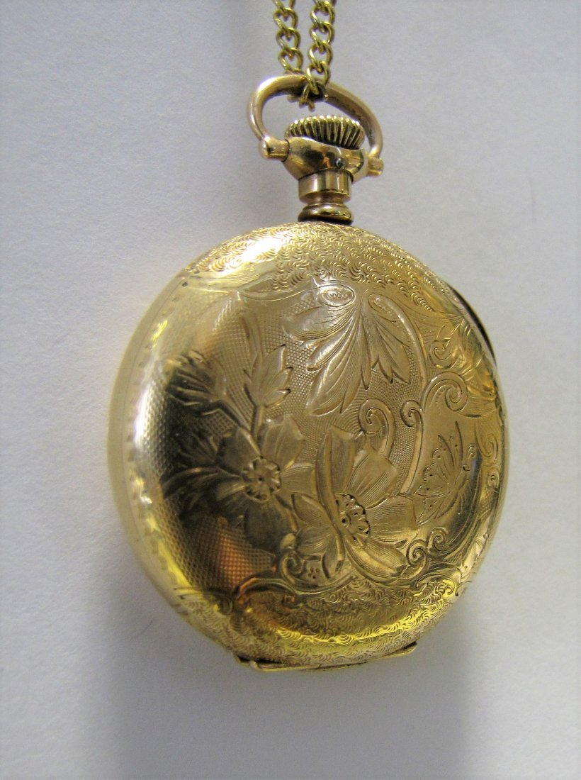 Two Hampden Pocket Watches - 7