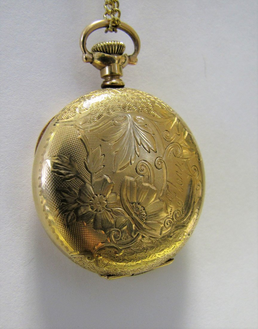 Two Hampden Pocket Watches - 8