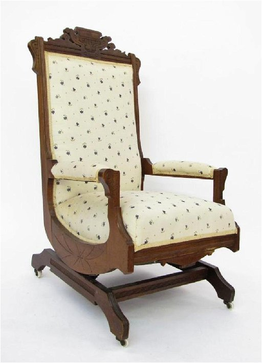 Admirable Victorian Platform Rocking Chair Gmtry Best Dining Table And Chair Ideas Images Gmtryco