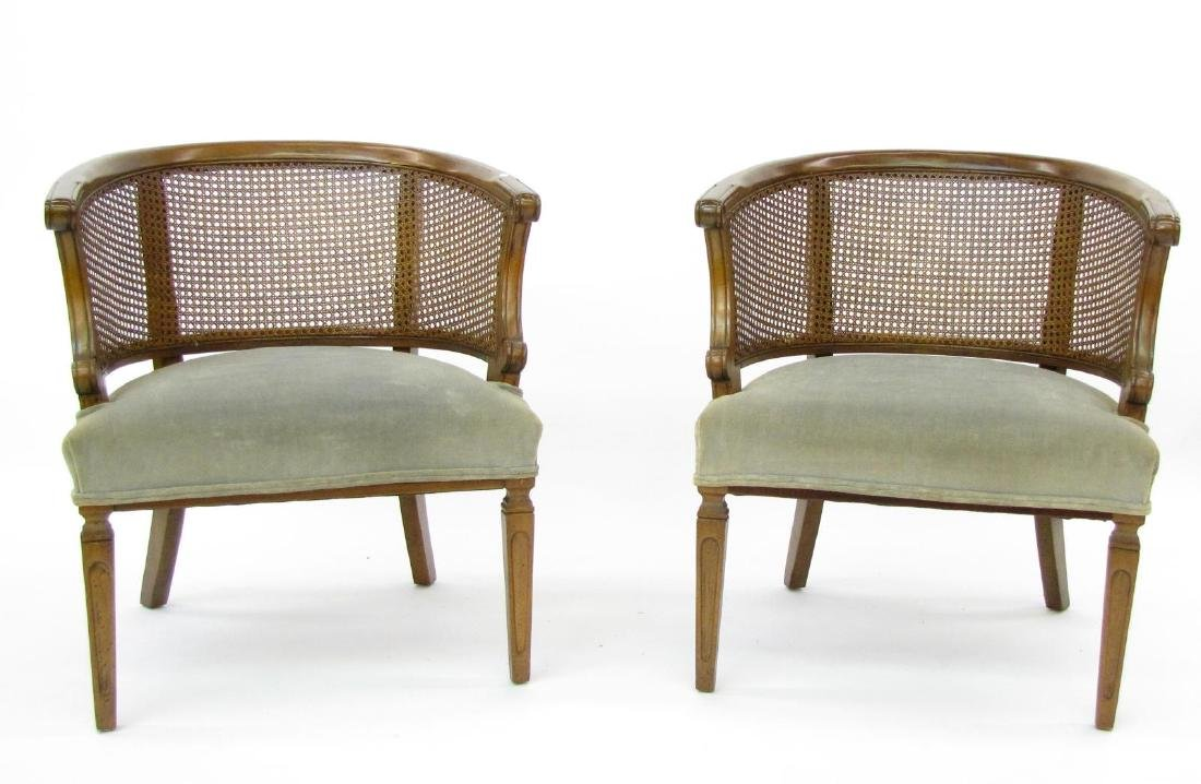 Pair of French Provincial Chairs - 2