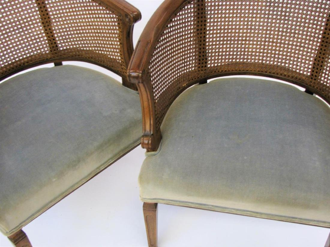 Pair of French Provincial Chairs - 3