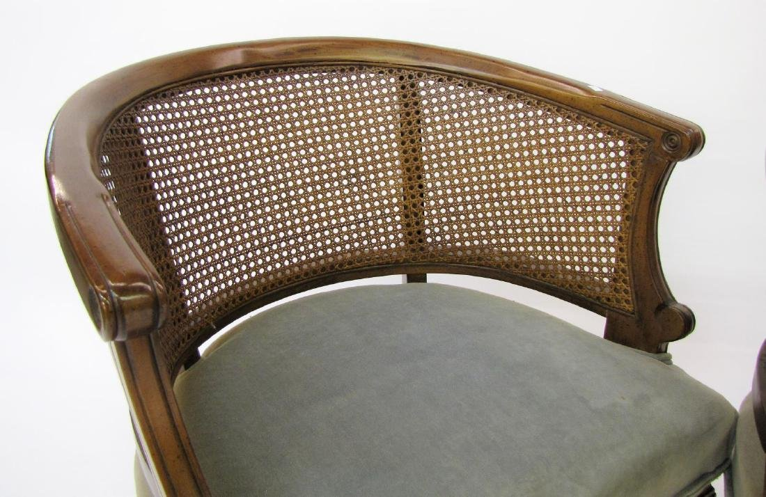 Pair of French Provincial Chairs - 5