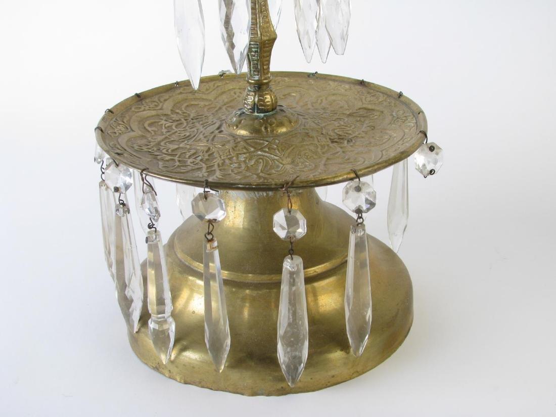 Pair of Brass Girandole - 4