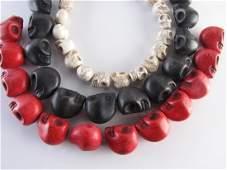 Three Strands Large Tibetan Buddhist Mala Beads