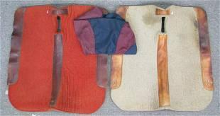 Two Flatcreek Saddlery Saddle Pads and Cover