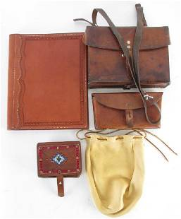 Group of Leather Goods