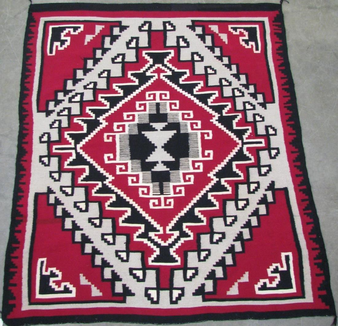 Handmade Navajo 'Ganado' Area Rug