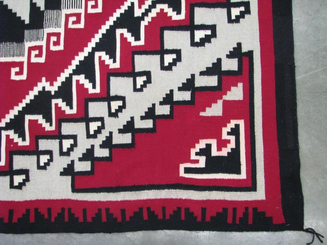 Handmade Navajo 'Ganado' Area Rug - 3