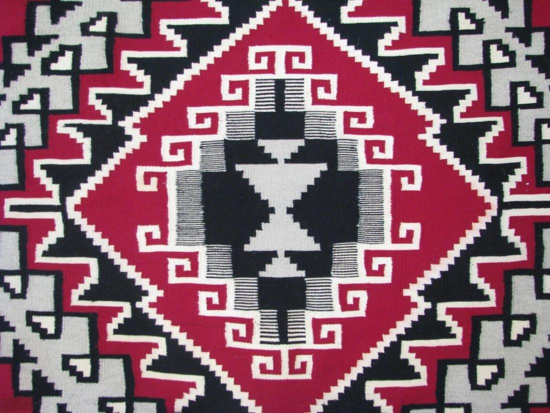 Handmade Navajo 'Ganado' Area Rug - 4