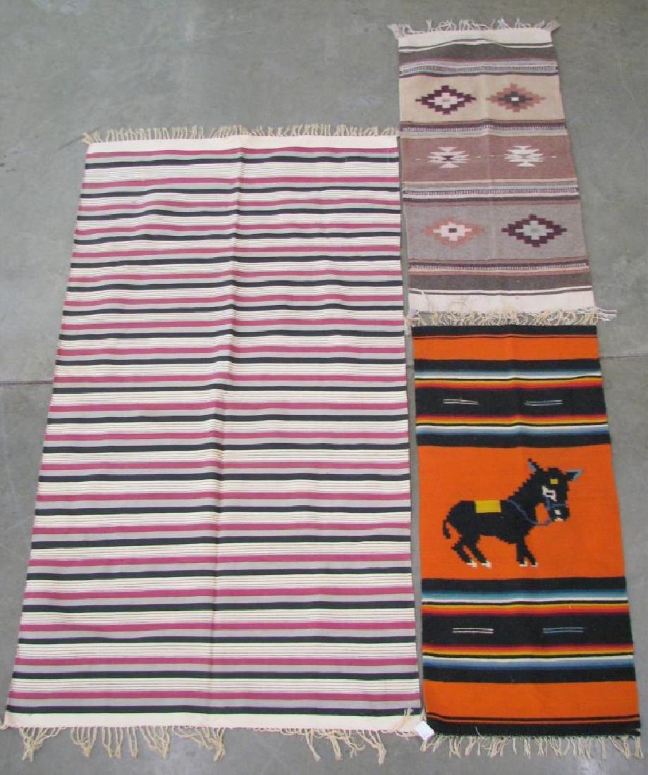 Group of Handmade Area Rugs