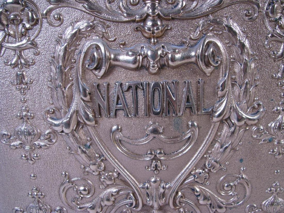 Antique Brass National Cash Register - 8