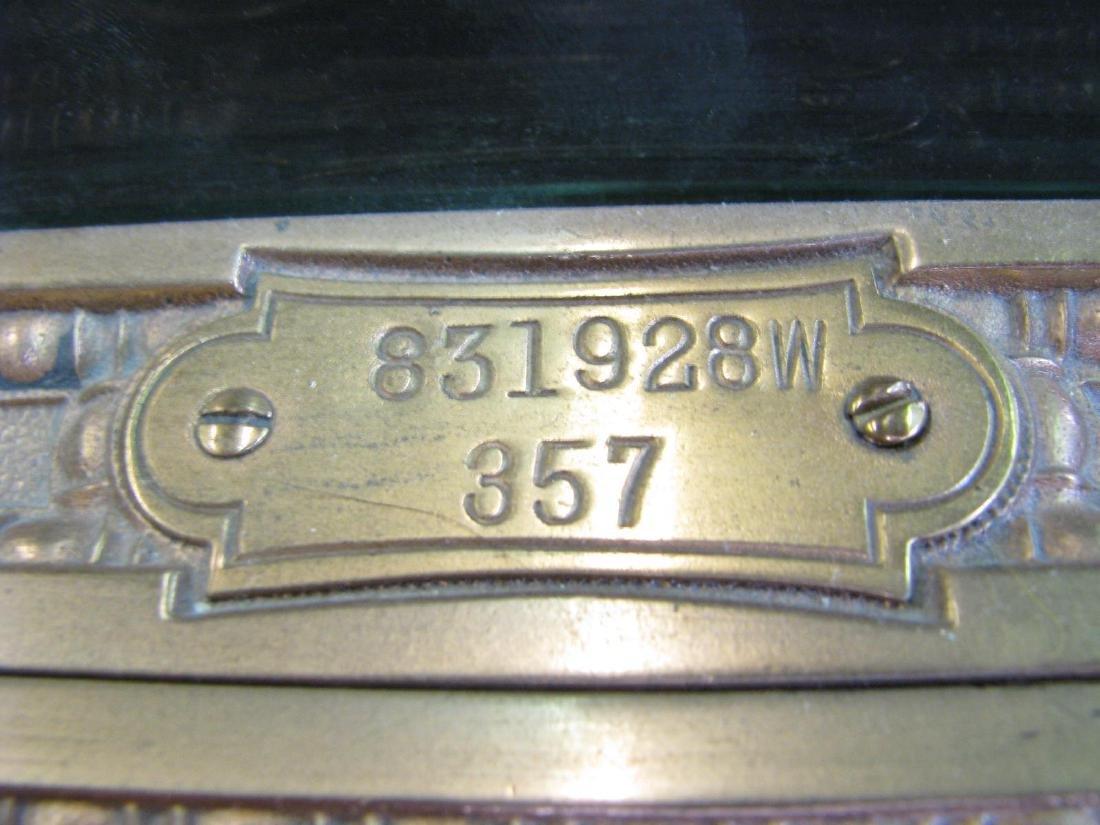 Antique Brass National Cash Register - 9
