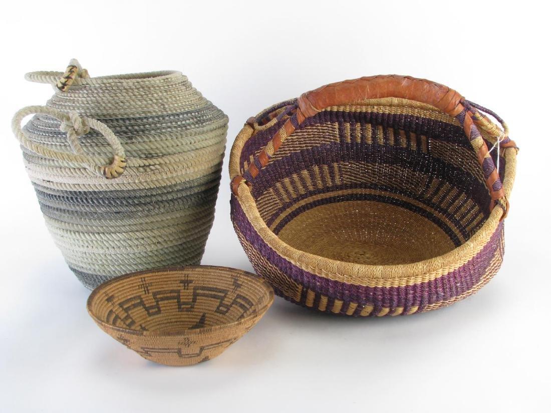 Handmade Baskets and Bowl - 2