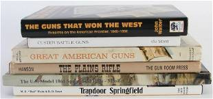 Group of Hard Cover Firearm Books