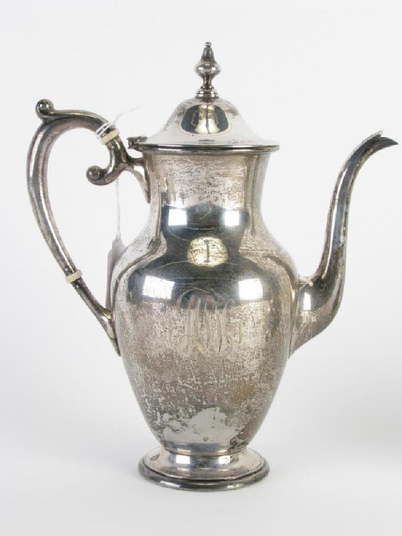 S. Kirk and Son Sterling Coffee Service - 2