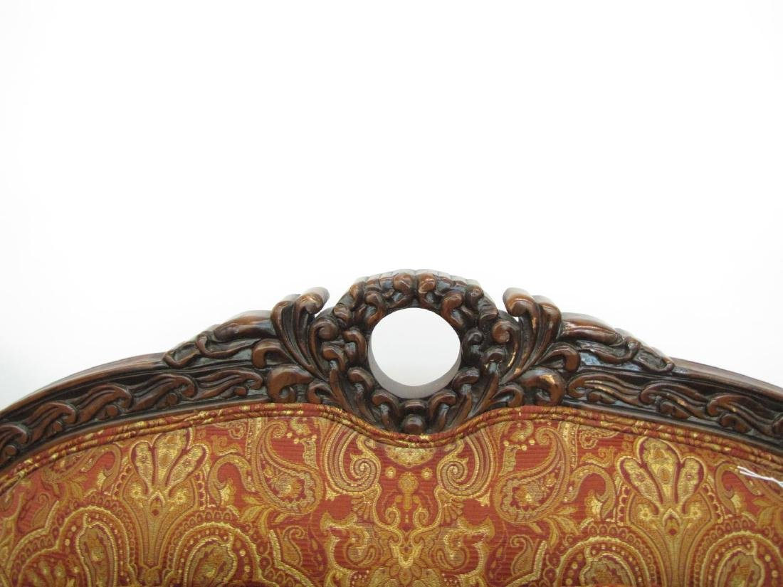 Pair of Decorator Upholstered Arm Chairs - 3