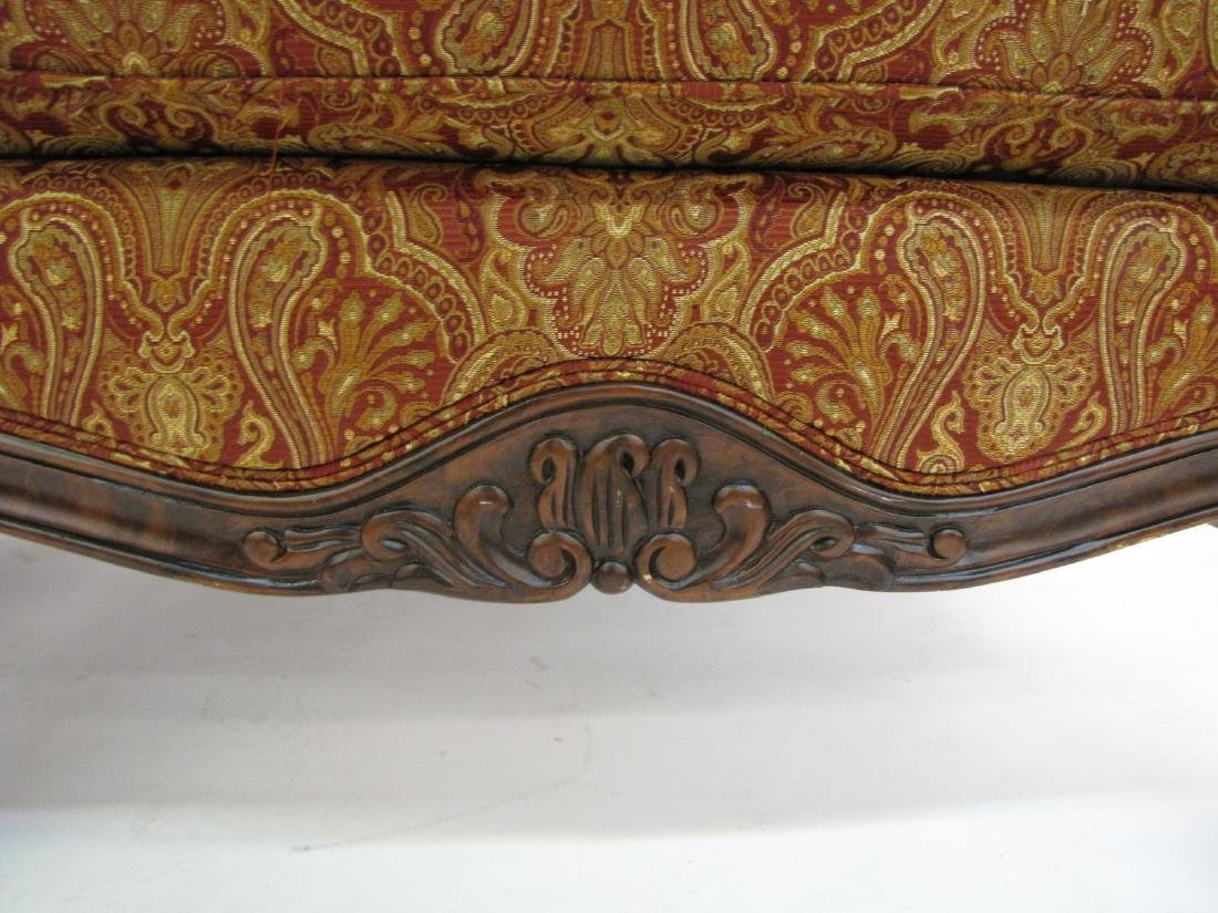 Pair of Decorator Upholstered Arm Chairs - 7