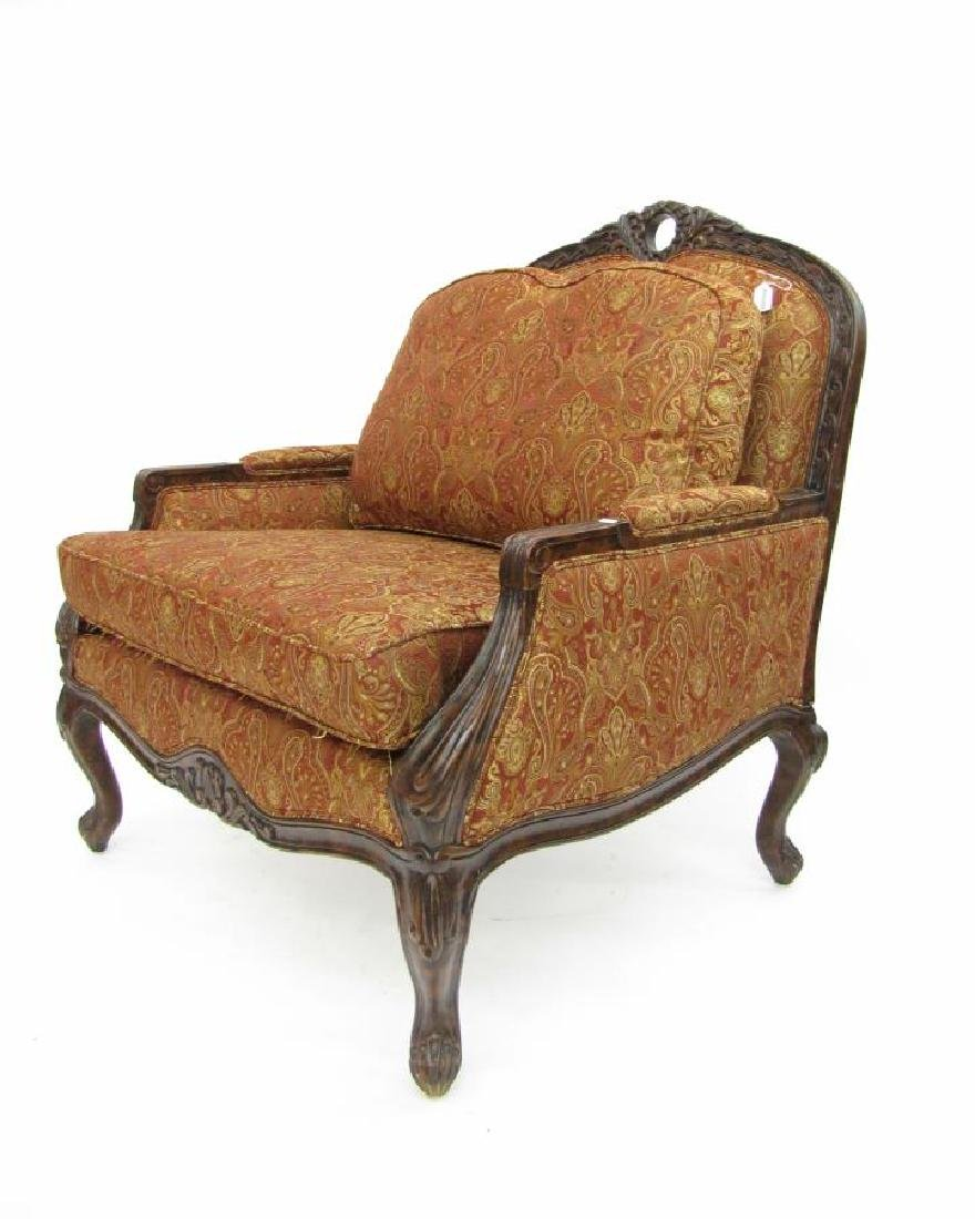 Pair of Decorator Upholstered Arm Chairs - 9