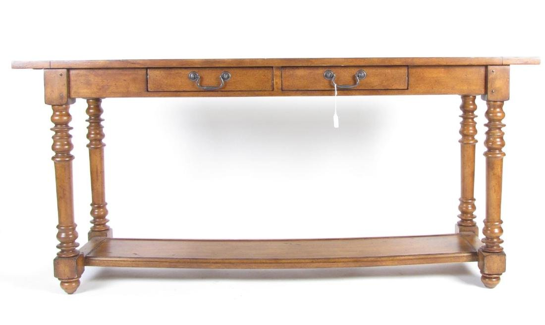 Two Drawer Sofa Console Table