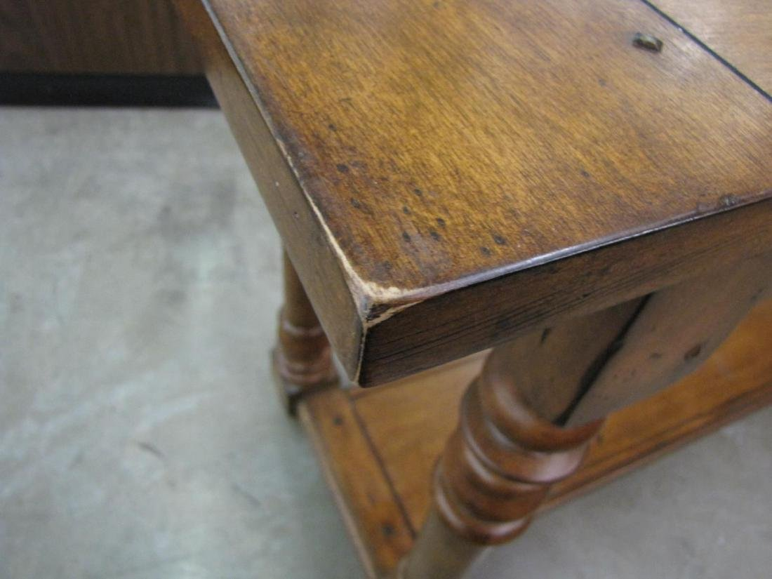Two Drawer Sofa Console Table - 5