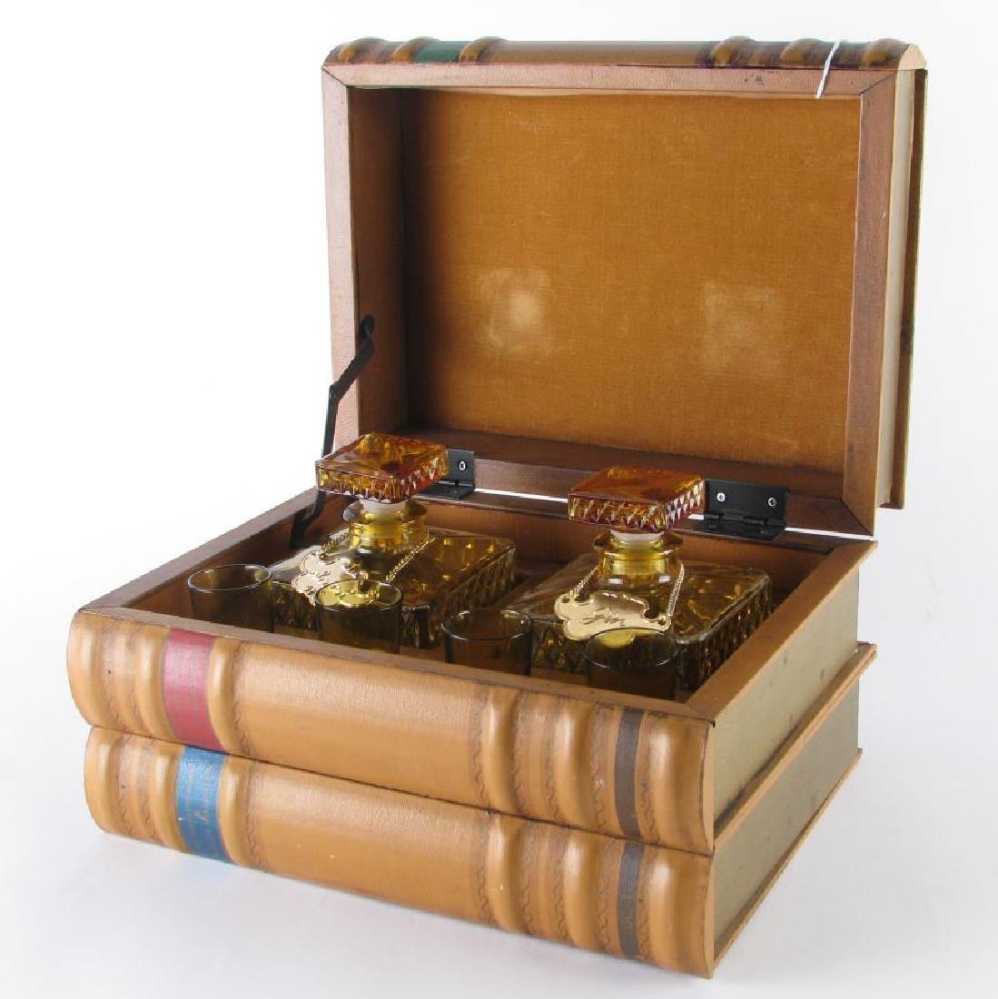 Library Hidden Liqueur Set