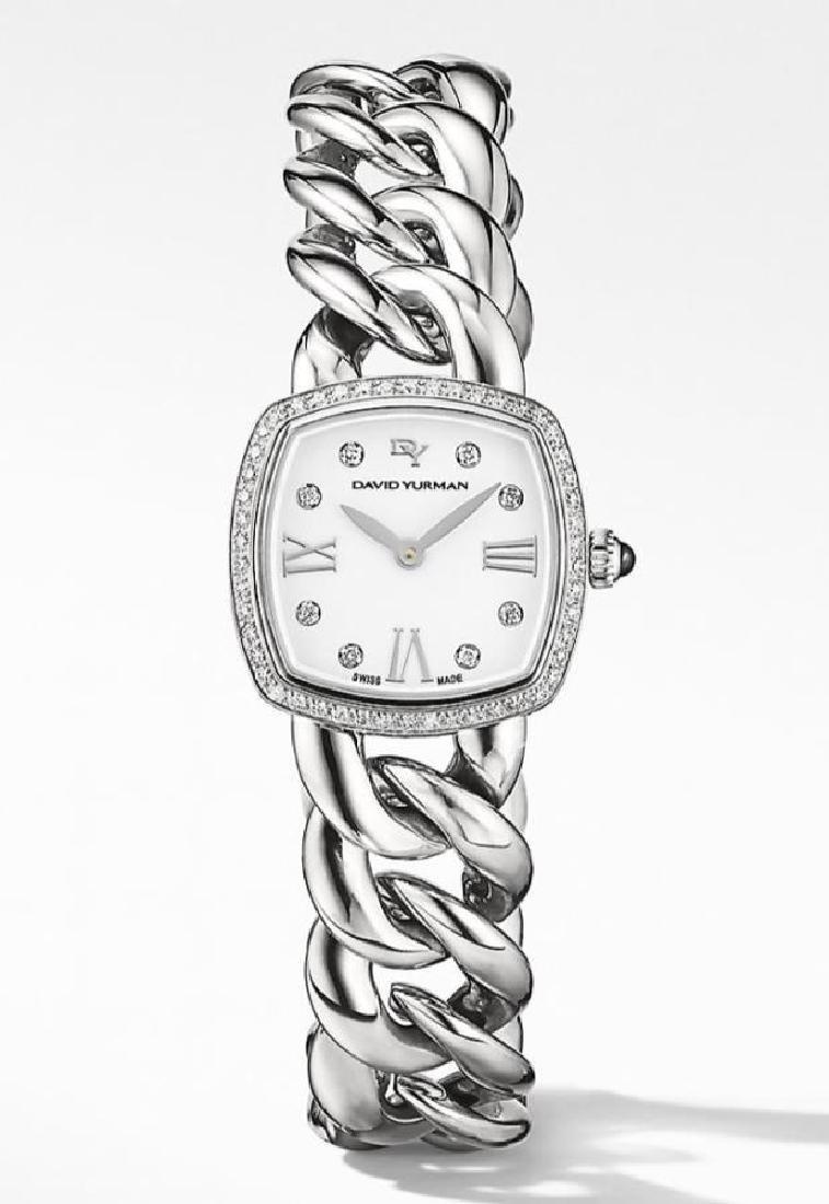 New-David Yurman Ladies Diamond Albion Watch
