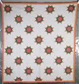 Vintage Handmade Pattern Quilt