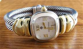 David Yurman 14K, Sterling Watch