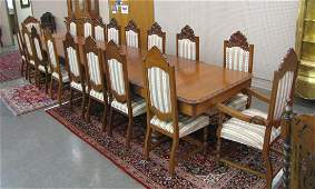 Large Dining Room Group, 18 Chairs