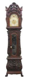 Carved Tallcase Clock, Elliott London, Horner? Durfee?