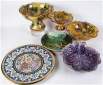 Decorated Pottery and Porcelain