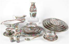 Set of Oriental Decorated China