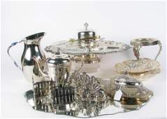 Assorted Silver Plate