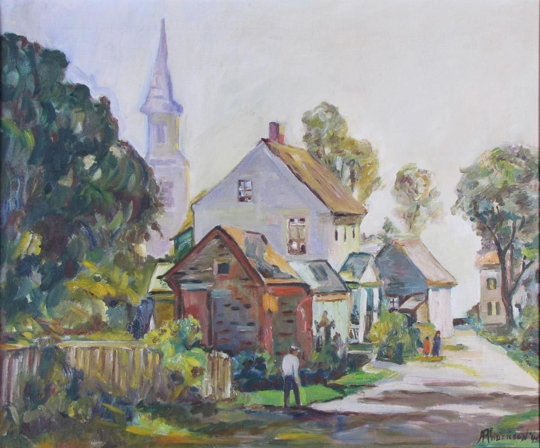 Anderson 20x24 O/C Village Walk