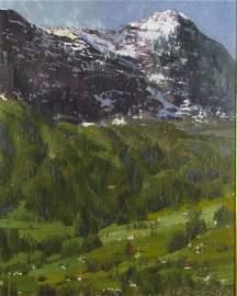 C.W. Mundy 20 x 16 O/L Grindelwald, Switzerland