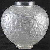 Rene Lalique 'Gui' Vase