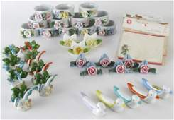Group of Place Card Holders and Napkin Rings