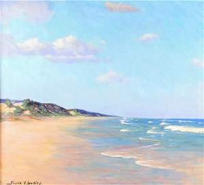 "Frank V Dudley 27x30 O/C ""Sunny Summer Day"""
