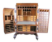Antique Wooton Desk Secretary, Ordinary Grade