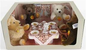 Steiff Teddy Bear Tea Party Collectors Set