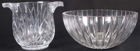 Marquis by Waterford Bowl, Crystal Ice Bucket