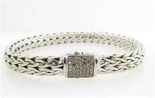 NEW John Hardy Medium Bracelet Brown Diamond