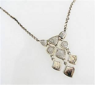 NEW John Hardy Naga Diamond Necklace