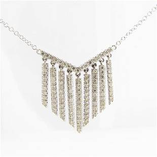 NEW 14K Diamond Fringe Necklace by Gabriel