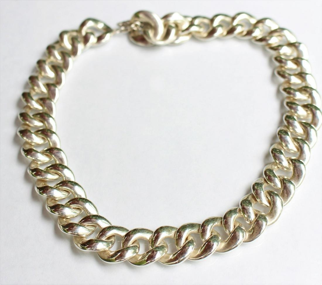 David Yurman Cordelia Curb Link Necklace